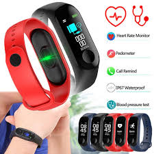 Newest Smart Bracelet M3 <b>Smart Baby Watch</b> Fitness Tracker Blood ...