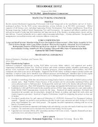 mechanical production engineer resume sample cipanewsletter best resume for mechanical engineers s site sample format