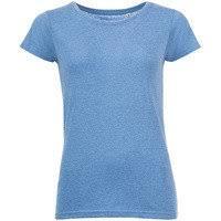 Sol's <b>Футболка женская MIXED WOMEN</b> голубой меланж, размер L
