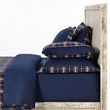 Комплект двуспального постельного белья <b>Oxford</b> Navy Tartan ...