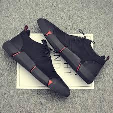 <b>NEW</b> Brand High quality all Black <b>Men's</b> leather casual <b>shoes</b> ...