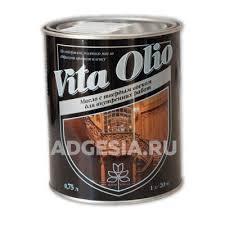 <b>Масло</b> для дерева <b>Vita Olio для</b> внутренних работ, Дуб беленый ...