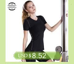 Yuerlian <b>Hot Women Fitness Tight</b> female T shirt Dry Fit Training ...