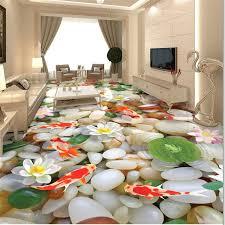 wellyu <b>Custom flooring painting 3d</b> обои pebbles three dimensional ...