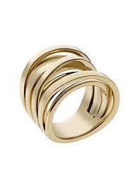 <b>Michael Kors</b> Damen-<b>Ring</b> Edelstahl gold, (s.Werbelink ...