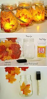 jar crafts home easy diy: diy autumn mason jar candles diy craft crafts home decor easy crafts diy ideas diy crafts crafty diy decor craft decorations how to home crafts tutorials