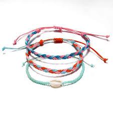 Hot Summer <b>Bohemian Thread Bracelet Retro</b> Handmade Boho ...