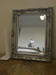 measure mirror select frame style ornate french vintage style antique silver gilt wall mirror amp bevell