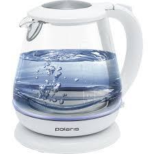 <b>Чайник Polaris PWK 1859CGL</b> белый купить в Москве | Технопарк