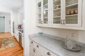 green inset door kitchen