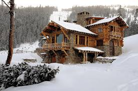 Luxury Log Home Plans   Bold Natural Accents   Ideas HomesModern HOuse Exterior Design Ideas Equipped   Wooden Material for Best Green Area Space in Luxury