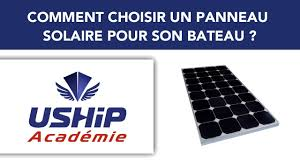Comment choisir un <b>panneau solaire</b> ?   Académie USHIP - YouTube