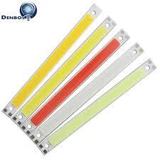 <b>allcob LED</b> COB Strip 120mm 10mm Light Lamp 9V 12V DC 10W ...