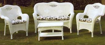 furniture wicker patio expansive