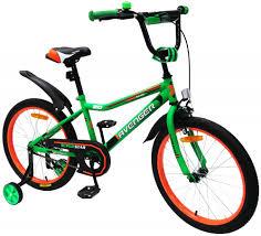 Детский <b>велосипед AVENGER SUPER STAR</b> 16, зеленый/черный ...