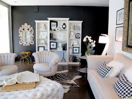 living room decoration idea black