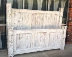 solid wood bed framebed framebedroom furntiturereclaimed wood bedrustic bedshabby chic furniturebeach furnitureplatform bedheadboard beach shabby chic furniture
