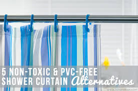 5 <b>Non</b>-<b>Toxic</b> & <b>PVC</b>-Free Shower Curtain Alternatives