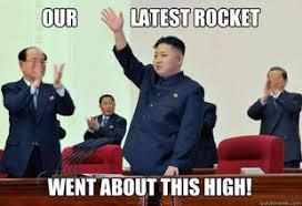N. Korea missile test possibility very high: Funniest North Korea ... via Relatably.com