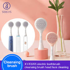 <b>SOOCAS Facial Cleansing</b> Brush Head X1 X3 X5 sonic electric ...