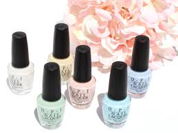<b>OPI SoftShades Pastels</b> Collection Swatches and Review - Christa ...