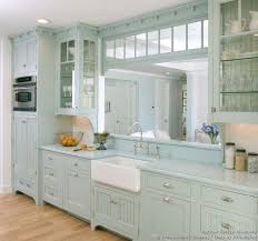 painted blue kitchen cabinets house: week a victorian style kitchen with light baby blue painted cabinets