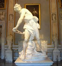 gian lorenzo bernini creating his legend michelangelo s help bernini s david found here