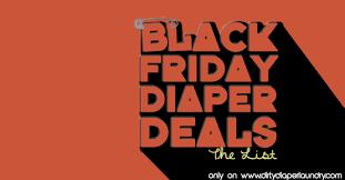 THE List- Black Friday Cloth Diaper Deals 2016 – Dirty Diaper ...