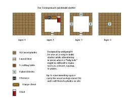 Minecraft floorplans by ColtCoyote on DeviantArtMinecraft Floorplans Tommyshack by ColtCoyote