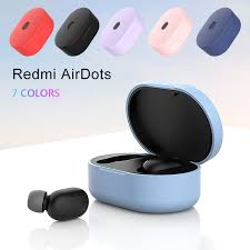 <b>Silicone Protective</b> Cover for Xiaomi Redmi Airdots TWS Bluetooth ...
