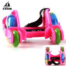 FDBRO Kids Adult <b>Colorful Flashing Roller</b> Whirlwind Pulley Flash ...