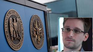 PHOTO: National Security Agency plaques are seen at the compound at Fort Meade, Md., June 6, 2013. Edward Snowden, seen here in an interview with The ... - ap_nsa_snowden_tk_130610_wg
