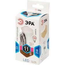 <b>Лампа светодиодная Эра</b> 11Вт E27 грушевидная 4000k ...