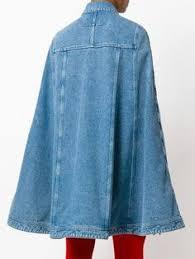 Givenchy джинсовая <b>накидка</b> | <b>Накидки</b> | Cape coat, Dark denim и ...