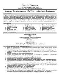 telecom technician resume example telecom resume examples