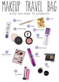 ng light makeup travel bag