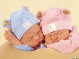 Image result for boy and girl babies