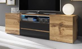 Bros <b>TV Cabinet with LED</b> Lights