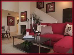 design ideas rousing red decorating