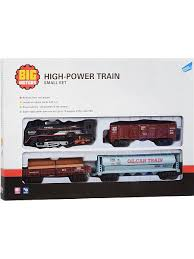 Набор игровой <b>Железная дорога</b> с 3 вагонами <b>Big Motors</b> ...