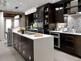 latest kitchen remodel ideas  beautiful modern kitchen idea features cool mosaic tiles kitchen back