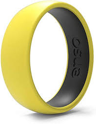 Enso Rings Dual-Tone Silicone Ring - Two Great ... - Amazon.com