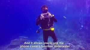 PULUZ <b>40m</b>/130ft <b>Waterproof</b> Diving Housing Photo Video Taking ...