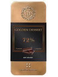 <b>Шоколад горький</b> 72% 100 гр. <b>Golden Dessert</b> 10324540 в ...