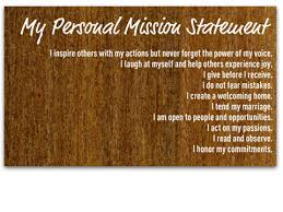 personal mission statement examples for students   Statement     INQUARTA