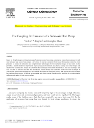 (PDF) The Coupling Performance of a <b>Solar</b>-<b>Air Heat Pump</b>