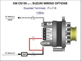 delco remy cs130 alternator wiring diagram images alternator gm cs130cs144 alternator wiring plfs 1 wire