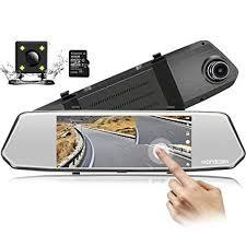 7-Inch Touch Screen Backup Camera Mirror Dash ... - Amazon.com