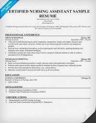 resume example   cna professional resume sample examples of a cna    cna professional resume sample examples of a cna resume creating the perfect certified nursing assistant resume