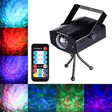 7 Color Remote <b>RGB LED</b> Water Wave Ripple <b>Effect Stage</b> Light ...
